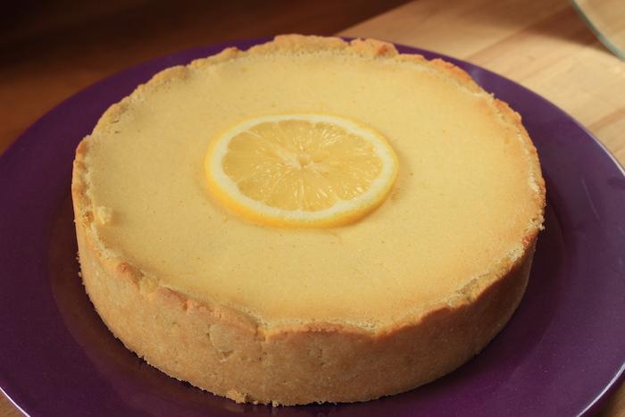 Tarte au citron low-carb