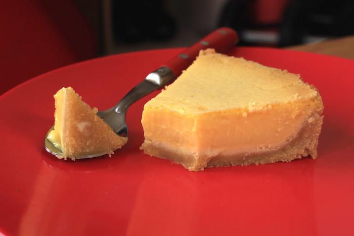 Tarte au citron pauvre en glucides