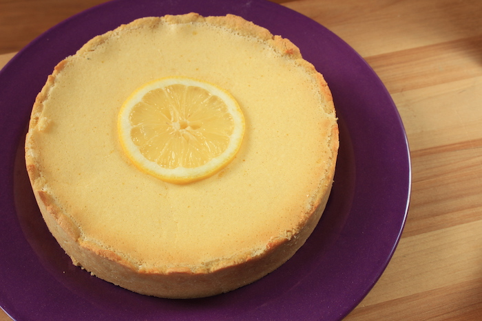 Tarte au citron réalisée avec les produits Sukrin