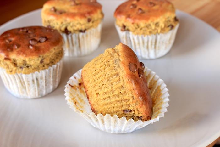 Texture d'un muffin à la farine de lupin