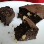 Brownies au caroube