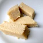 Sugar free cashew burfi