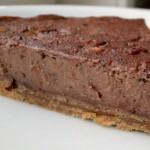 Tarte aux marrons et au chocolat, cuite à la vapeur