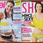 Magazines de fitness féminin : Vital vs. Shape