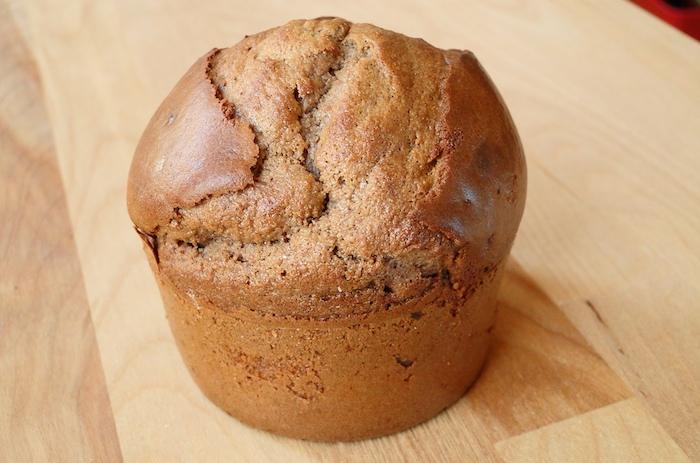 Muffin à la farine de chataignes
