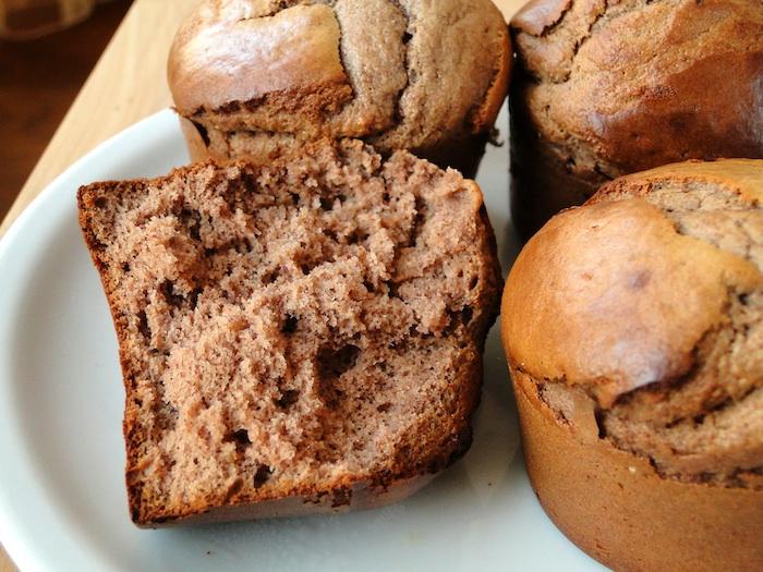 La texture des muffins : bien moelleuse et légère