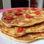 Pancakes à la farine de manioc