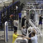 """""""Je n'ose pas m'aventurer dans la partie 'muscu' de la salle de gym"""""""