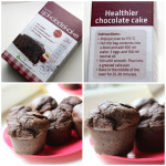 Box of Sukrin chocolate cake mix