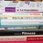 Sélection de livres Fitness