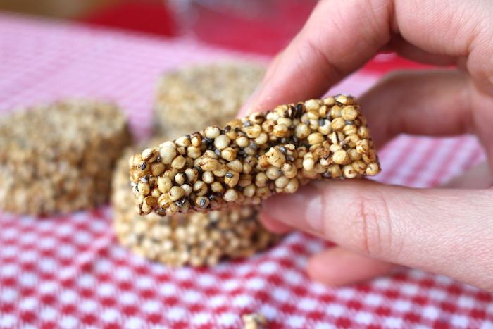 biscuits à la quinoa soufflée