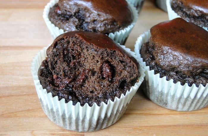 Extrêmement Muffins au chocolat sans farine, aux protéines de chanvre  HZ64