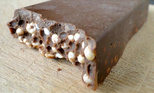Célèbre Barre de chocolat Crunch protéinée | Fitnessfriandises.fr NX56