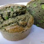 Muffins salés aux protéines de chanvre