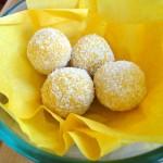 Confiture de mangue sans sucre ajouté et boulettes d'énergie