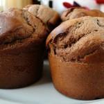 Muffins à la farine de châtaignes