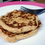 Pancakes végétaliens à la farine de lin