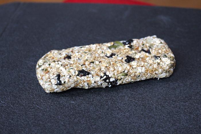 Barre vegan à l'avoine et aux graines