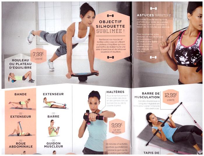 Des accessoires fitness en vente chez Lidl