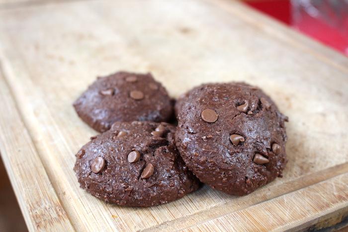 Biscuits protéinés whey chocolat noisettes