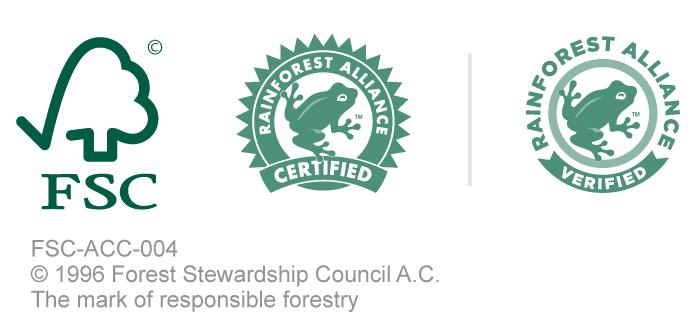 Logos Rain Forest Alliance