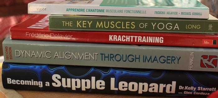 Mes livres d'anatomie fitness