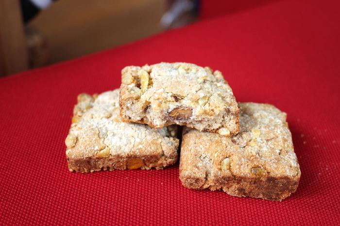 Texture de ces biscuits aux protéines de whey