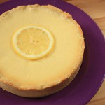 Tarte au citron low-carb