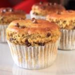 Muffins protéinés à la farine de lupin
