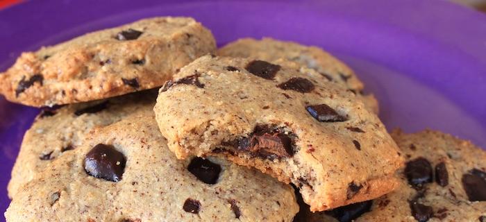 Recette de chocolate chip cookie paléo