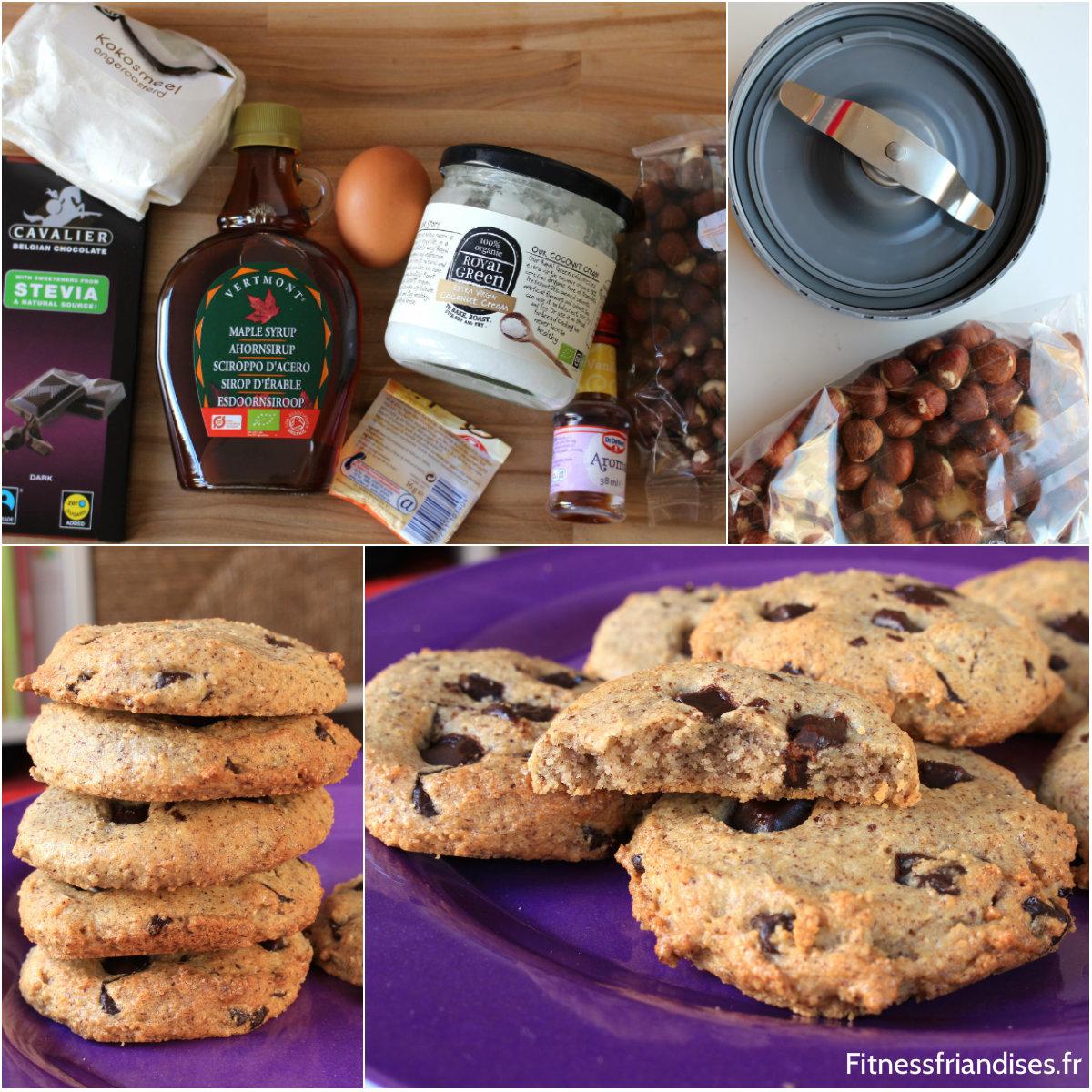 Cookies Paléo Chocolat Noisettes