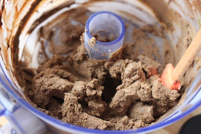pate à truffes après passage au frigo