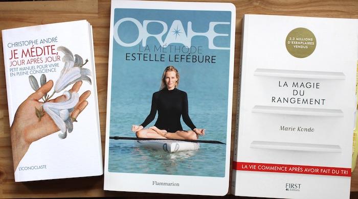 3 livres zen bien-etre