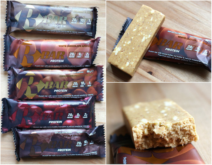 Barres protéinées R-bars de la marque Reflex Nutrition