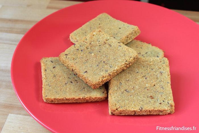 Biscuits paléo, végétaliens et bas en glucides