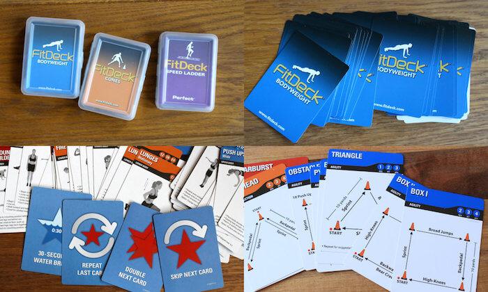 Cartes de jeu fitness Fitdeck