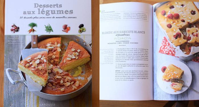 """Livre """"Desserts aux légumes"""" aux éditions Larousse"""