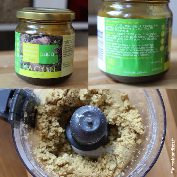 Sirop de yacun et préparation des biscuits
