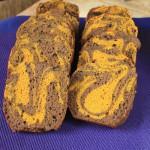 Marbré curcuma-caroube