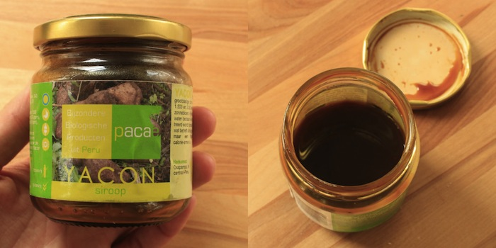 Pot de sirop de yacon