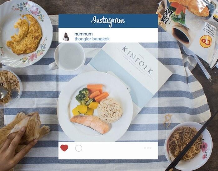 Photo Instagram repas