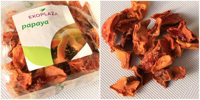 Papaye séchée sans sucre ajouté