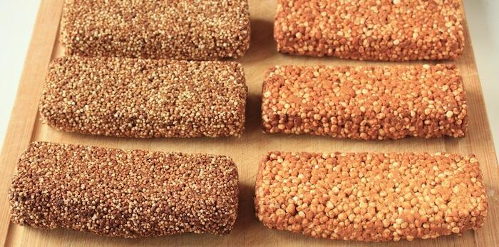 Barres aux pseudo-céréales
