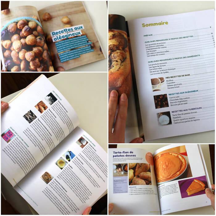 Livre de recettes de desserts paléo