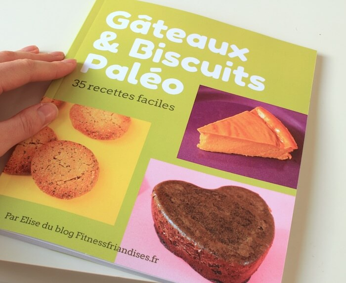 Mon livre autopublié : Gateaux & biscuits Paléo