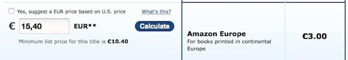 Royalties sur une vente de livre Createspace/Amazon