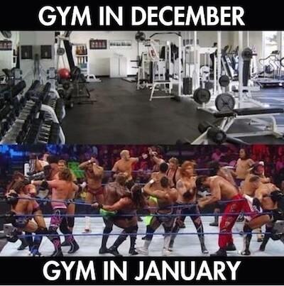 Salle de fitness vide