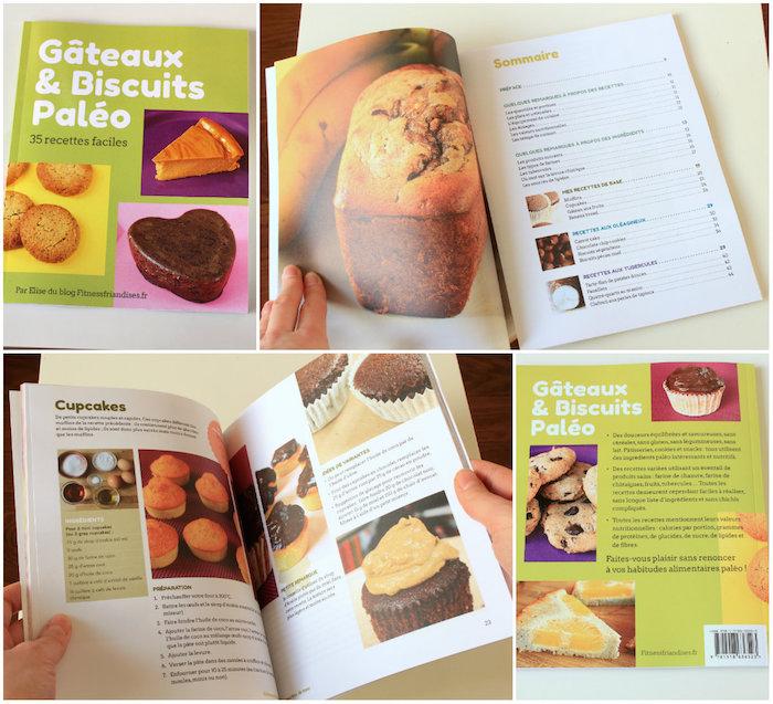 Livre Gâteaux et biscuits paléo : 35 recettes faciles