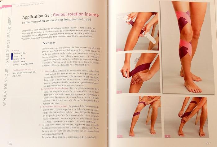 Taping du genou