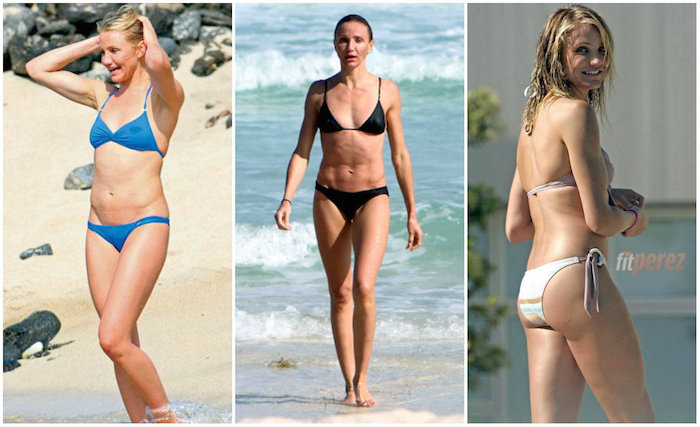 Cameron Diaz en bikini